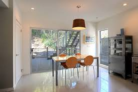kitchen floor tile patterns dining room contemporary with deck