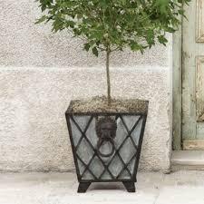 mid century planter wayfair