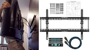 wall mounted cable management system cheetah tv wall mount setup installation and review youtube