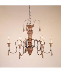 Currey And Company Lighting Currey And Company 9334 Mansion 41 Inch Wide 6 Light Chandelier