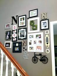 staircase wall decor ideas staircase wall decor dabler co