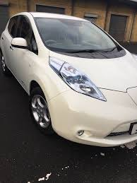 nissan leaf ad metallic white electric nissan leaf immaculate condition