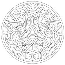 mandala harmony mandalas coloring pages for adults justcolor