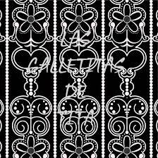 imagenes blancas en fondo negro galletas decoradas originales y personalizadas papel vintage