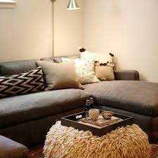 contemporary basement family room design ideas