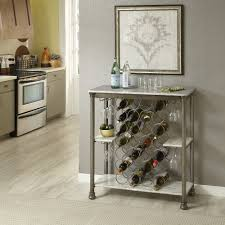 Wine Racks In Kitchen Cabinets Home Styles The Orleans Storage Wine Rack Walmart Com
