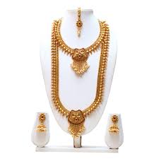gold haram sets jewellery gold necklace set temple jewellery necklace sets