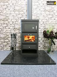 wood burning multifuel stove u0026 oven cooker with back boiler for