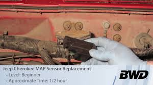 jeep cherokee map sensor replacement manifold absolute pressure