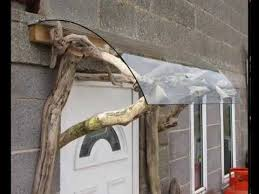 How To Make Awnings How To Make A Porch Using Driftwood And Reclaimed Material Youtube