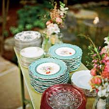 mismatched plates wedding china plates wedding wedding dresses dressesss