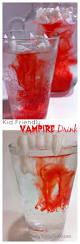 kid friendly halloween vampire drink halloween vampire monster