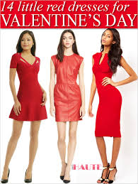 14 little red dresses to wear this valentine u0027s day what u0027s haute
