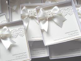 vintage lace wedding invitations lace wedding invitation with satin pearls luxury boxed