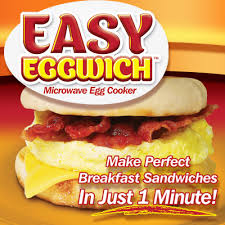 Breakfast Sandwich Toaster Easy Eggwich Breakfast Sandwich Maker As Seen On Tv Store