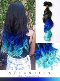 mermaid hair extensions blue series colorful clip in c017 c017 vpfashion