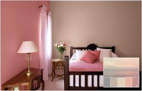 altrosa bedroom decor ideas for color combinations as wall paint