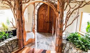 Interior Arched Doors For Sale Organic Fairy Tale House For Sale Wizards Only Need Apply