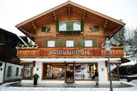 louis vuitton gstaad resort inspired by swiss chalet style