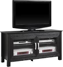 Tv Tables For Flat Screens Walker Edison Tv Stand For Flat Panel Tvs Up To 52