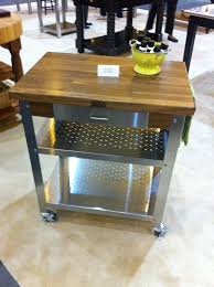 Mobile Kitchen Island Table by 9 Best Mobile Kitchen Island Images On Pinterest Butcher Blocks