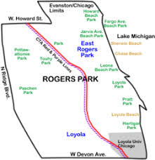 40th ward chicago map rogers park chicago