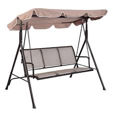 3 person patio swing canopy awning hammock porch swings throughout
