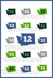 Seahawks Decorations Seahawks Printable Tags Easy Party Decorations For Seattle Fans