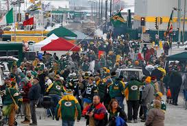 Packer Flags Packer Fans Find Plenty To Celebrate Before During And After