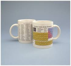 Periodic Table Mug Periodic Table Accessories Gloves Glasses And Safety Lab Coats