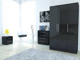 Bedroom Furniture Toronto by Toronto Caspian Black Or White High Gloss Bedroom Furniture