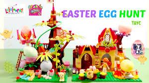 littlest pet shop easter eggs easter egg hunt with lalaloopsy littlest pet shop lps shopkins
