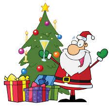 cartoon christmas tree clipart clip art library