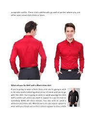 men u0027s dress shirts a way to wear a red dress shirt