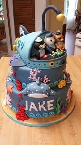 octonauts birthday cake by claire owen cakes decoracion