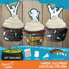 casper halloween chocolate cupcake kit crafty cooking kits