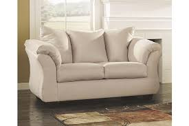 beige sofa and loveseat darcy loveseat ashley furniture homestore