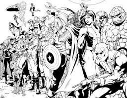 marvel coloring pages free printable enjoy coloring paper