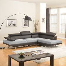 Suede Sectional Sofas Microfiber Sectional Sofas Loveseats U0026 Chaises Ebay