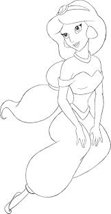 draw jasmine jasmine aladdin draw
