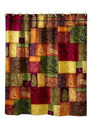 amazon com avanti linens adirondack pine shower curtain multi