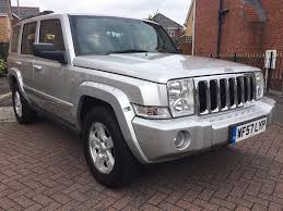 2007 57 jeep commander 3 0 crd limited 5dr automatic 7 seater in