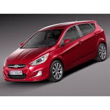 hyundai accent 5 door cool hyundai 2017 hyundai accent hatchback 5 door 2015 3d model
