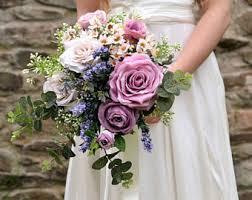 silk bridal bouquet and dahlia marsala burgundy silk bridal bouquet
