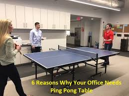 ping pong table playing area 6 reasons why your office needs a ping pong table
