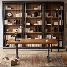tuscan 3 piece bookcase wall ladder and writing desk