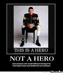 An Hero Meme - not a hero by shadowgun meme center