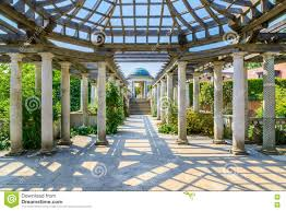 Pergola Ideas Uk by Hampstead Pergola And Hill Garden Stock Photo Image 73650019