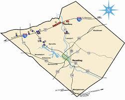 map of berks county pa berks county pa billboard locations