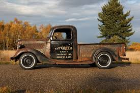 Old Ford V8 Truck - rodcitygarage